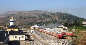 La estación de Soria, fotografiada en 2008 por Gonzopowers.