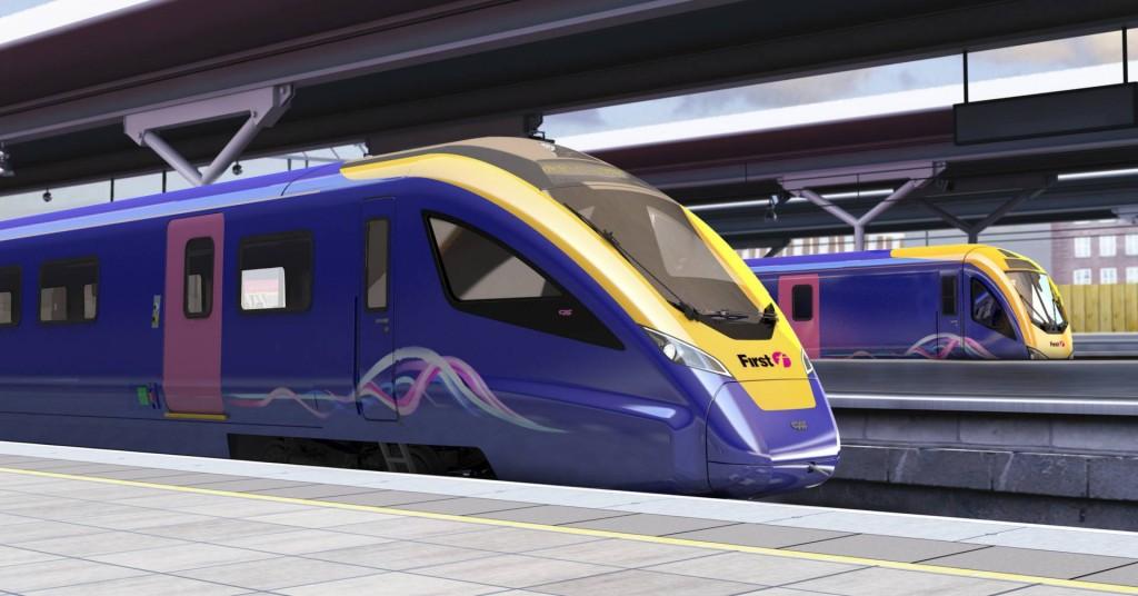 Así lucirán los nuevos Civity UK InterCity que CAF suministrará para el TransPennine Express.