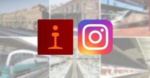 Trenvista llega a Instagram con fotos de trenes y ferrocarriles