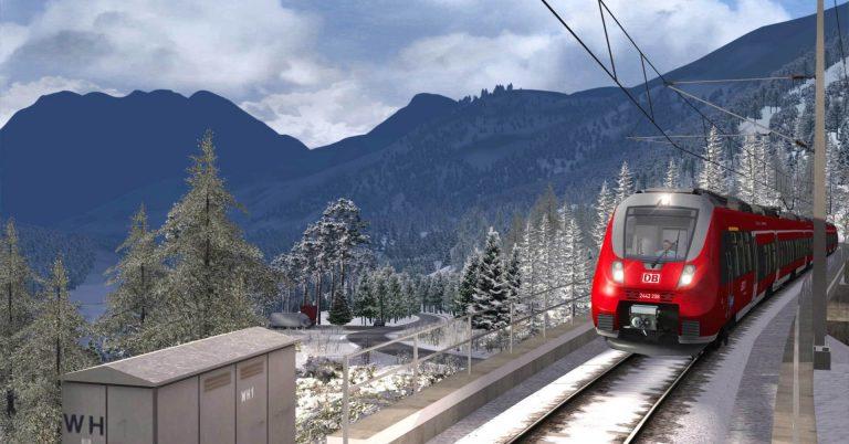 Captura de pantalla del Train SImulator 2018. © Dovetail games