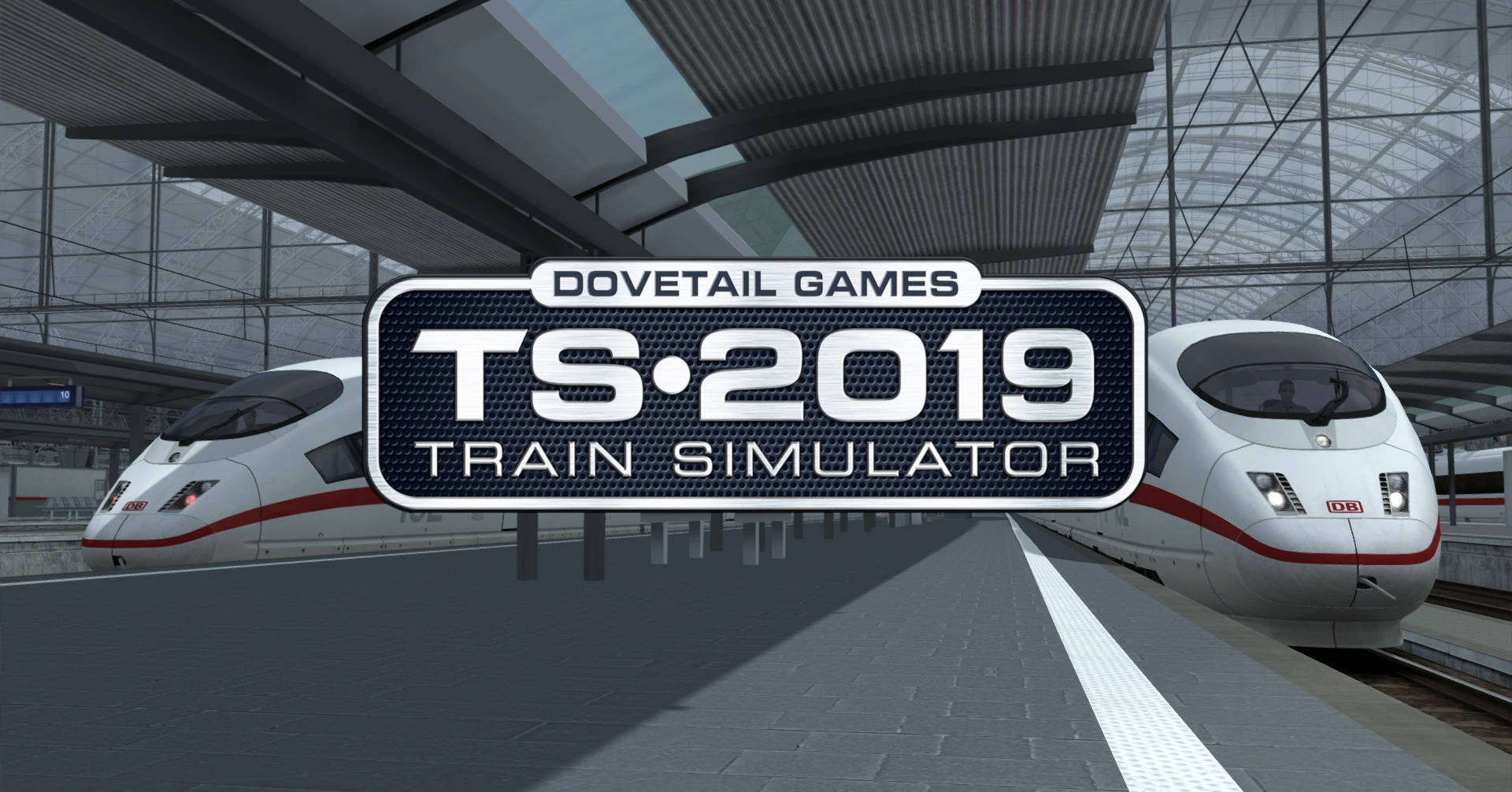 Dos ICE 3M de la línea Mannheim-Frankfurt del Train SImulator 2019. Foto: © Dovetail Games