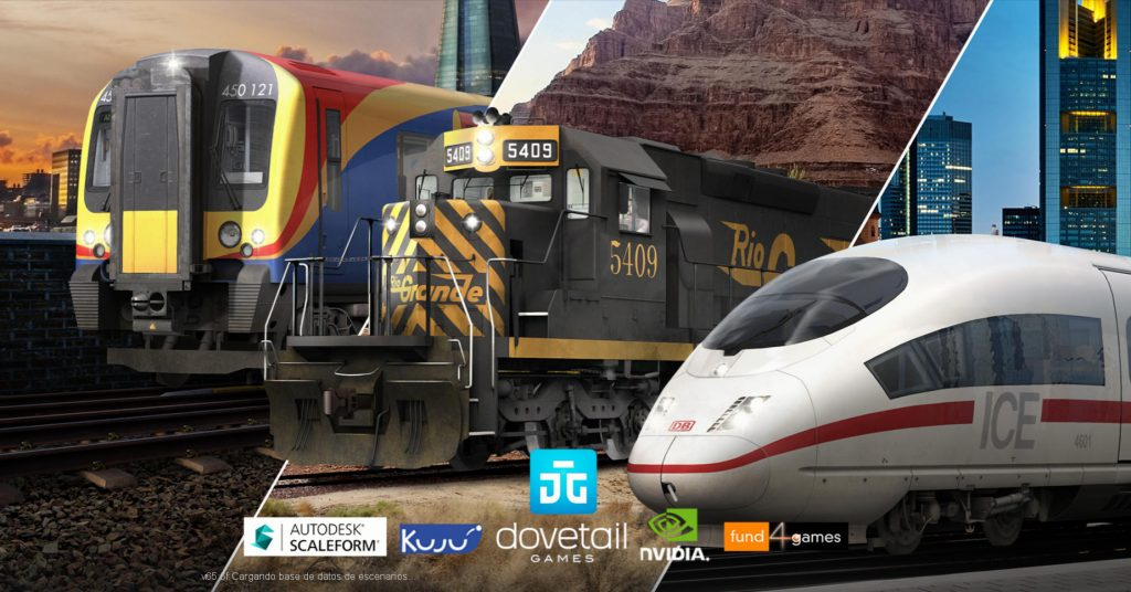 Portada de Train Simulator 2019