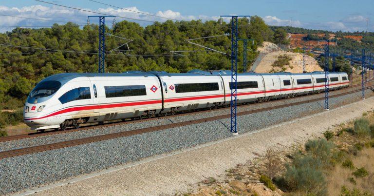 Recreación de cómo serán los serie 103 de Metro de Madrid. Foto original de David Gubler.