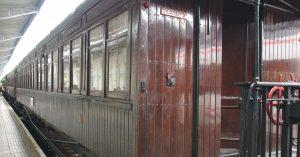 Tren de la Fresa en Aranjuez. Foto: Miguel Bustos