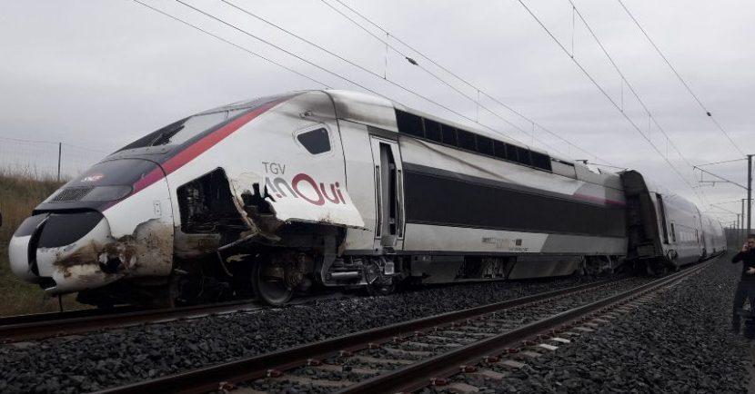 TGV descarrilado en Ingenheim