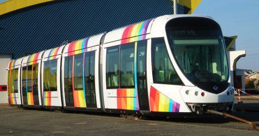 Tranvía Citadis como el que podría usarse en el Tramcamp. Foto (CC BY NC ND): thierry llansades.