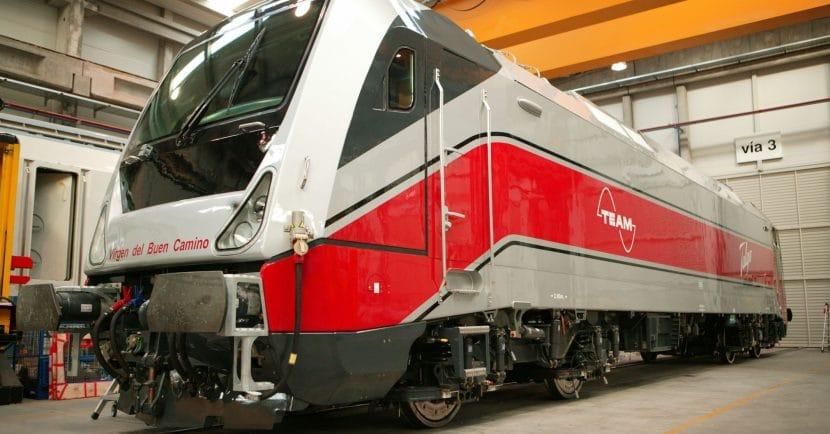 Locomotora Trav-ca en Las Matas. Foto ©: Talgo
