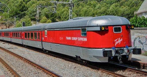 Talgo III RD Trans Europ Express. Foto: Miquel González Page.