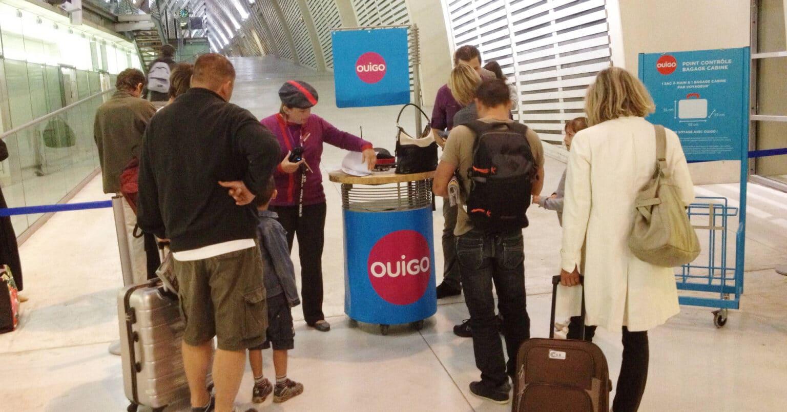 Oferta de empleo para tripulación de servicios en Ouigo. Foto: jean-louis Zimmermann