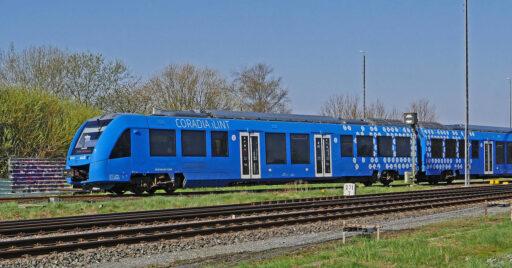 Coradia iLint de Alstom circulando en Alemania