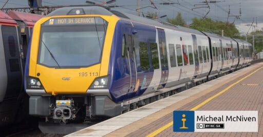 195 113 en la estación de Wigan