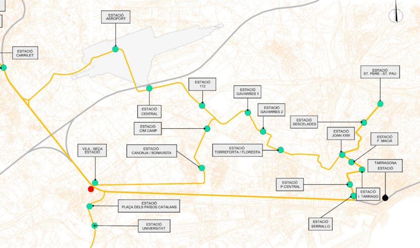 Plano de la fase 3 del proyecto. DEPARTAMENT DE TERRITORI I SOSTENIBILITAT.