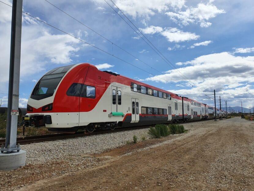 Stadler KISS de Caltrain en pruebas en Salt Lake City (2). CALTRAIN.