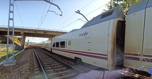 Descarrila un Alvia Madrid-Gijón al norte de León. AUTORÍA DESCONOCIDA